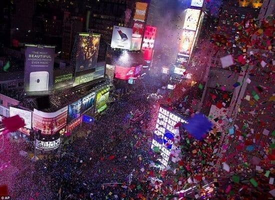 I coriandoli dei desideri del capodanno di Times Square