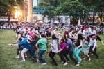 Musical Chairs in Bryant Park
