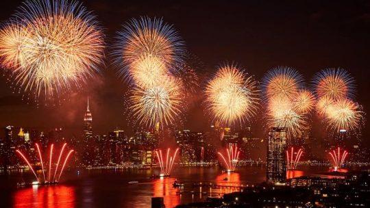 4 Luglio festa dell'indipendenza a New York