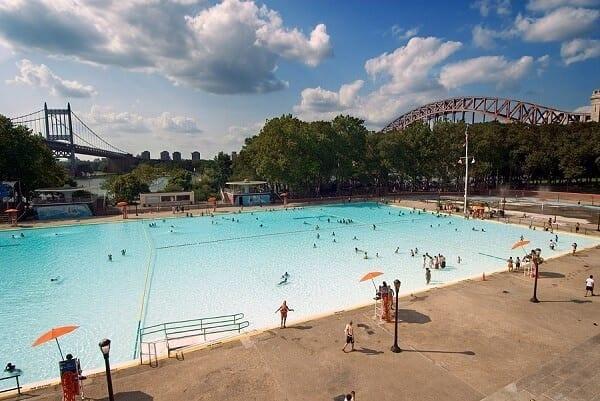 Le migliori piscine pubbliche di New York