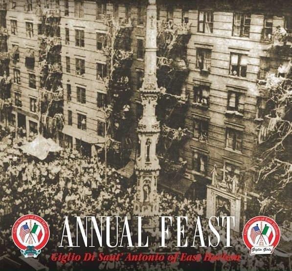 Festa Giglio di Sant'Antonio East Harlem New York