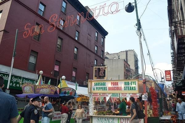 La festa di San Gennaro a New York