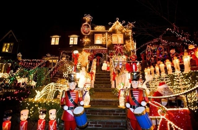Dyker Heights: Tour a Brooklyn delle case illuminate
