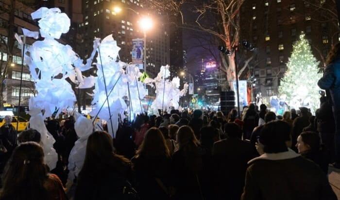 Accensione Albero di Natale a Lincoln Square