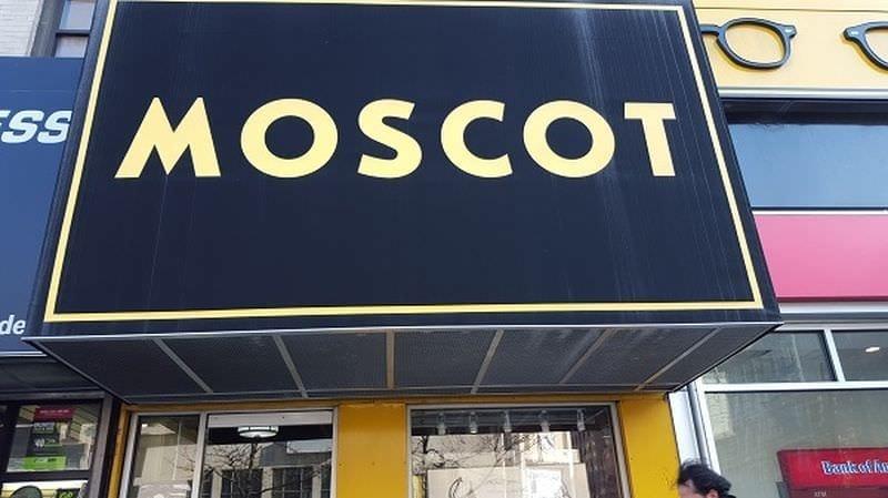 Per i fans di Johnny Depp e degli occhiali Moscot New York
