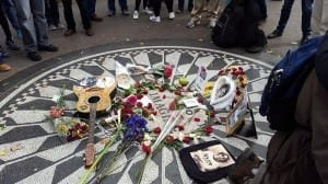 Strawberry Fields Central Park John Lennon