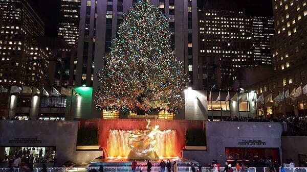 Accensione albero Rockefeller Center 2018 arriva il Natale a New York
