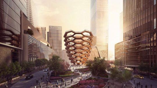 Hudson Yards il nuovo complesso di New York