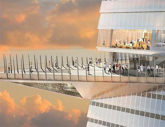 Edge, il nuovo Osservatorio di New York di Hudson Yards